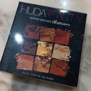 NIB Authentic Huda Beauty Warm Brown Obsessions